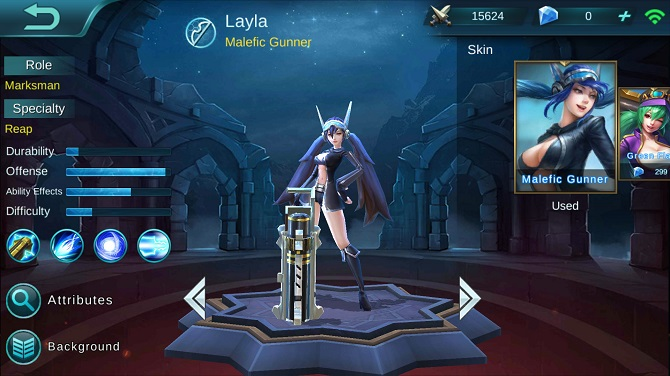 layla mobile legends guide