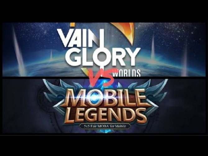 Mobile legends vs vain glory