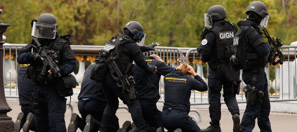 France's National Gendarmerie Intervention Group,