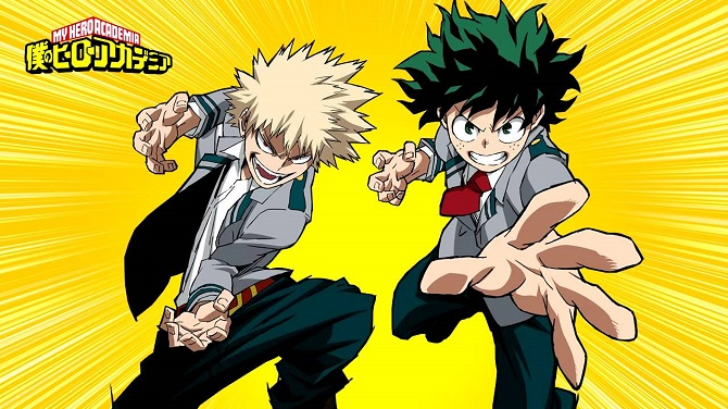 boku no hero academia anime review