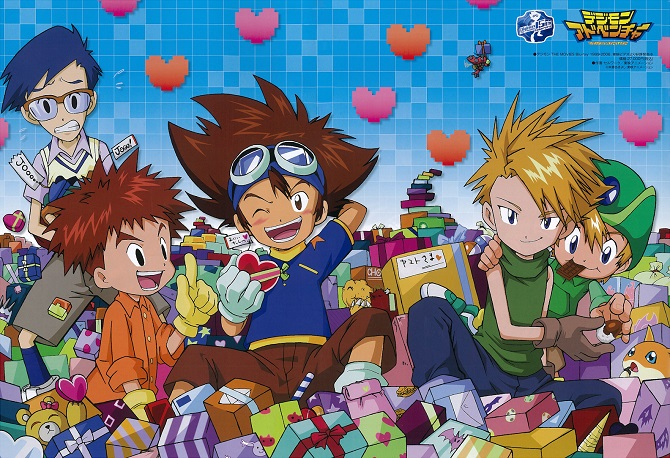 digimon adventure characters