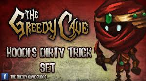 Greedy cave guide