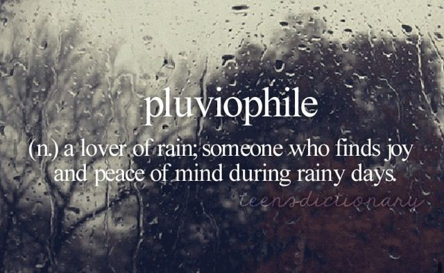 pluviophile syndrome