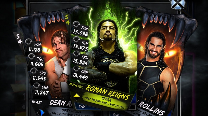 WWE Supercard custom card