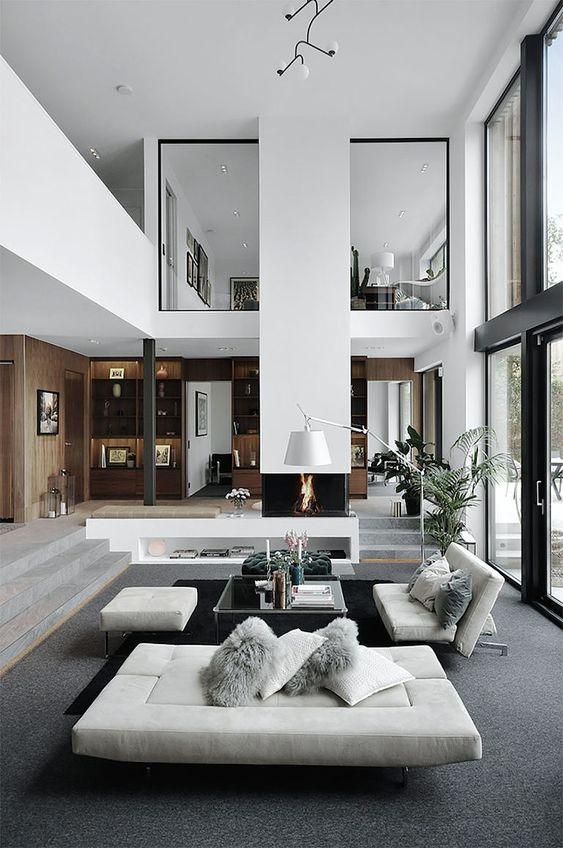 white cool home design