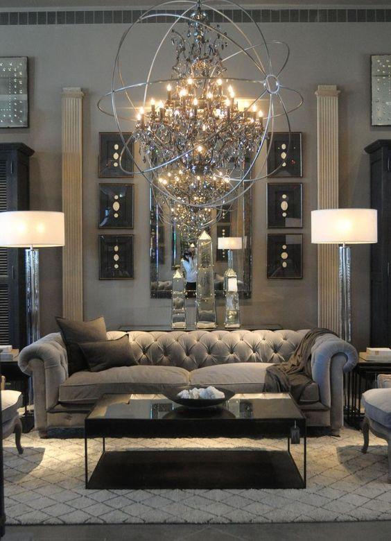 hollywood glam furniture ideas
