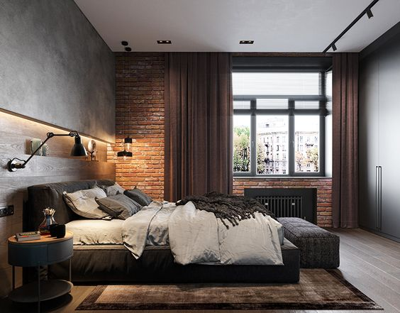 Industrial Bedroom Decor Ideas
